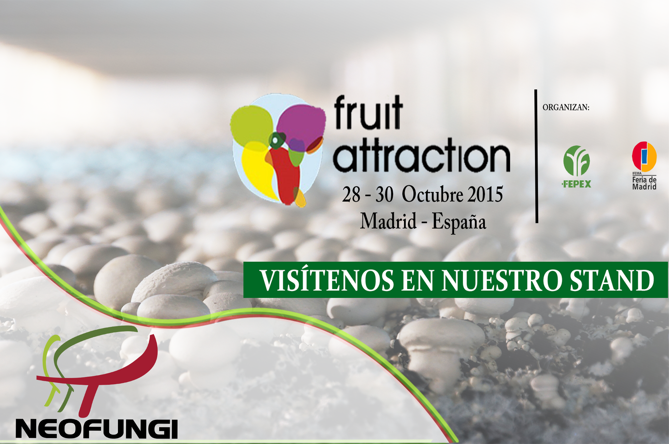 Neofungi Fruit attraction 2015