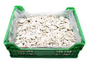 Washed sliced mushroom Neofungi