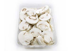 Washed and sliced mushroom Neofungi