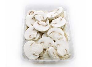 Washed and sliced mushroom Neofungi